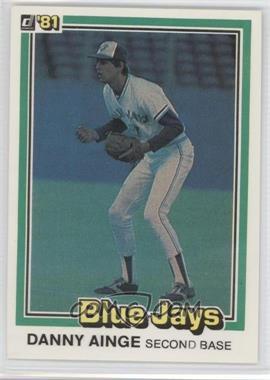 1981 Donruss #569 - Danny Ainge