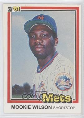 1981 Donruss #575 - Mookie Wilson