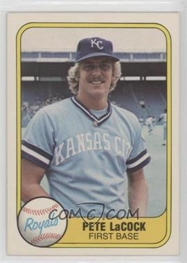 1981 Fleer - [Base] #47 - Pete LaCock