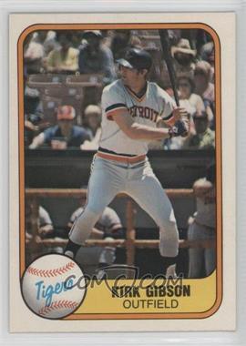 1981 Fleer - [Base] #481 - Kirk Gibson