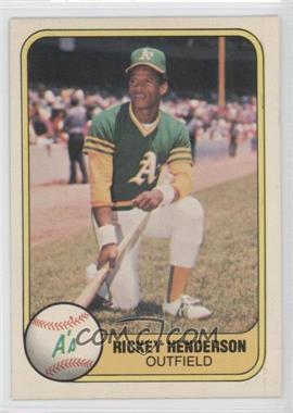 1981 Fleer - [Base] #574 - Rickey Henderson