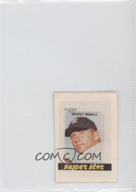 1981 Fleer [???] #N/A - Mickey Mantle