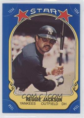 1981 Fleer Star Stickers - [Base] #115 - Reggie Jackson