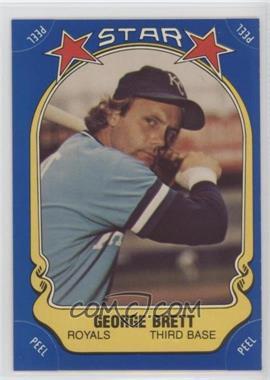 1981 Fleer Star Stickers - [Base] #116 - George Brett