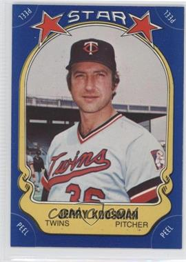 1981 Fleer Star Stickers - [Base] #19 - Jerry Koosman