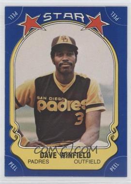 1981 Fleer Star Stickers - [Base] #25 - Dave Winfield
