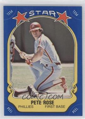 1981 Fleer Star Stickers - [Base] #74 - Pete Rose