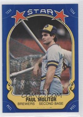 1981 Fleer Star Stickers - [Base] #82 - Paul Molitor