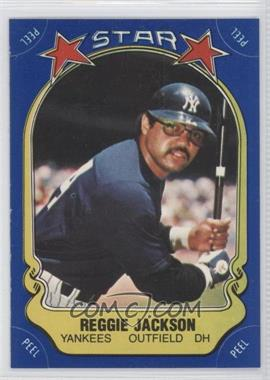 1981 Fleer Star Stickers - [Base] #REJA - Reggie Jackson