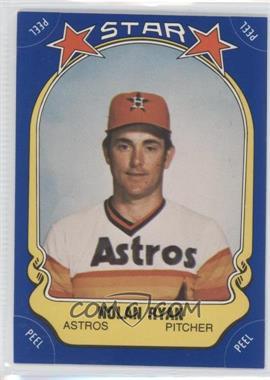 1981 Fleer Star Stickers #108 - Nolan Ryan