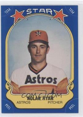 1981 Fleer Star Stickers #108 - Nolan Ryan