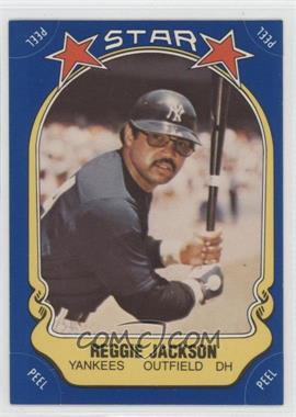 1981 Fleer Star Stickers #115 - Reggie Jackson