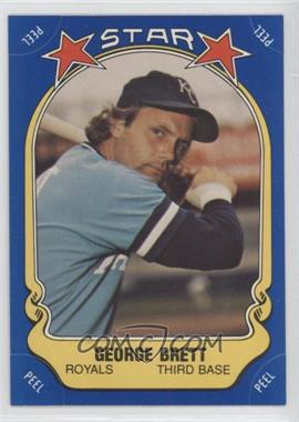 1981 Fleer Star Stickers #116 - George Brett