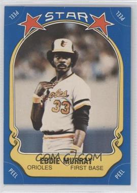 1981 Fleer Star Stickers #117 - Eddie Murray