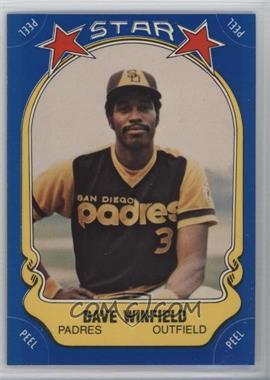1981 Fleer Star Stickers #25 - Dave Winfield