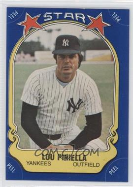 1981 Fleer Star Stickers #45 - Lou Piniella