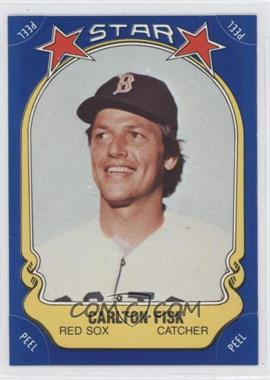 1981 Fleer Star Stickers #58 - Carlton Fisk