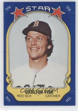 1981 Fleer Star Stickers #58 - Carlton Fisk