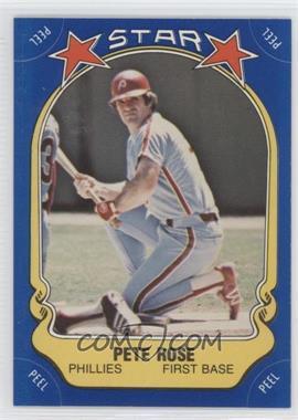 1981 Fleer Star Stickers #74 - Pete Rose