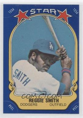 1981 Fleer Star Stickers #87 - Reggie Smith