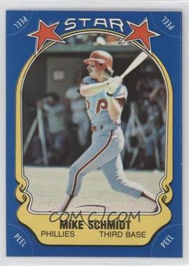 1981 Fleer Star Stickers #9 - Mike Schmidt