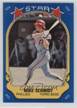 1981 Fleer Star Stickers #9 - Mike Schmidt