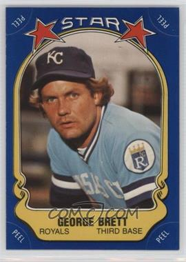 1981 Fleer Star Stickers #N/A - George Brett