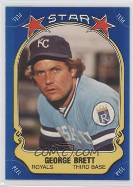1981 Fleer Star Stickers #N/A - George Brett
