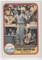 Gary Matthews (Finger on Back)