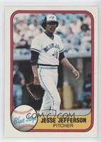 Jesse Jefferson (Corrected: Blue Jays on Back)