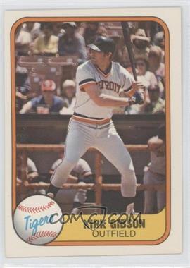 1981 Fleer #481 - Kirk Gibson