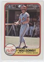 Mike Schmidt (error: card #640 (MVP) front)