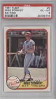 Mike Schmidt error: card #640 (MVP) front [PSA 6]