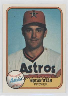 1981 Fleer #57 - Nolan Ryan