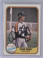 Alan Ashby [JSA Certified Auto]