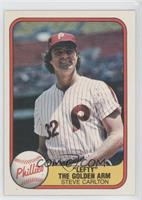 Steve Carlton (Error: Year 1066 on Back)