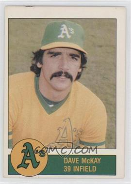 1981 Granny Goose Potato Chips Oakland Athletics - Food Issue [Base] #N/A - Dave McKay