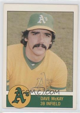 1981 Granny Goose Potato Chips Oakland Athletics Food Issue [Base] #N/A - Dave McKay