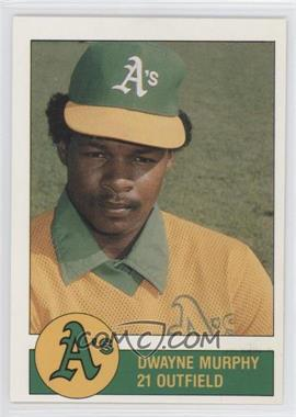 1981 Granny Goose Potato Chips Oakland Athletics Food Issue [Base] #N/A - Dwayne Murphy