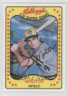 1981 Kellogg's 3-D Super Stars - [Base] #53 - Paul Molitor