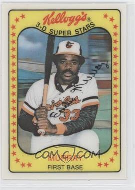 1981 Kellogg's 3-D Super Stars #18 - Eddie Murray
