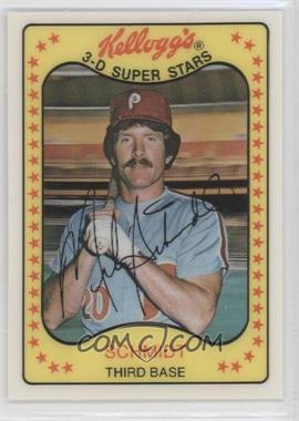 1981 Kellogg's 3-D Super Stars #5 - Mike Schmidt