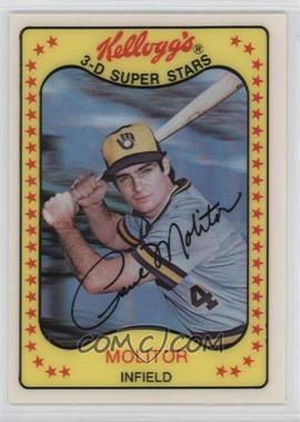 1981 Kellogg's 3-D Super Stars #53 - Paul Molitor