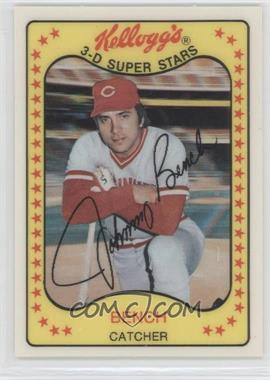 1981 Kellogg's 3-D Super Stars #65 - Johnny Bench