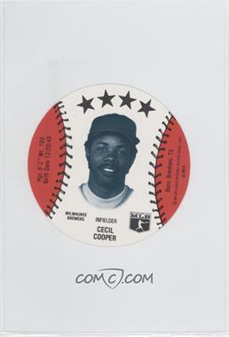 1981 MSA Discs - [Base] #CECO - Cecil Cooper