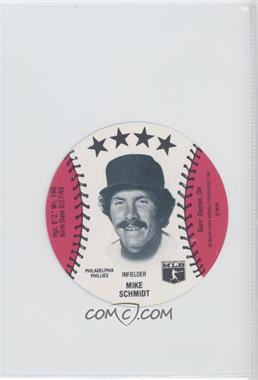 1981 MSA Discs - [Base] #MISC - Mike Schmidt