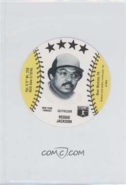 1981 MSA Discs - [Base] #REJA - Reggie Jackson