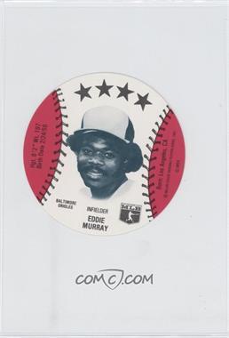 1981 MSA Discs #N/A - Eddie Murray