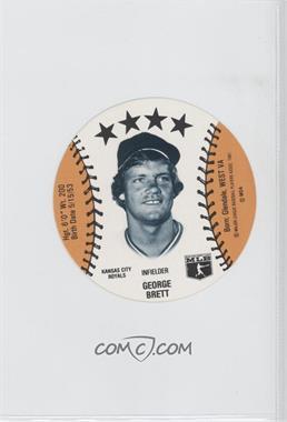 1981 MSA Discs #N/A - George Brett