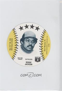 1981 MSA Discs #N/A - Reggie Jackson